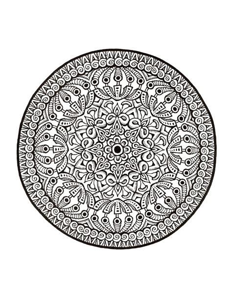 mandala coloring in books mystical mandala coloring book doodle