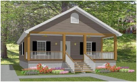 small cabin plans with porch small cottage house plans with porches simple small house