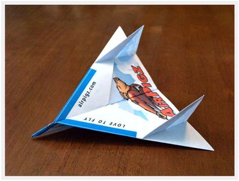 How To Make A Cool Airplane Out Of Paper - paper airplane airpigz