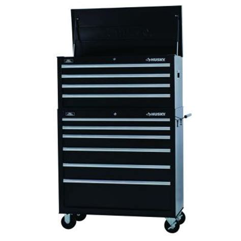 home depot tool box husky 40 in w 10 drawer tool chest and cabinet set htc404