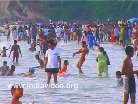 kovalam beach new year celebrations youtube