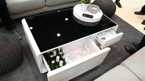 sobro coffee table with fridge storebound sobro release date price and specs cnet