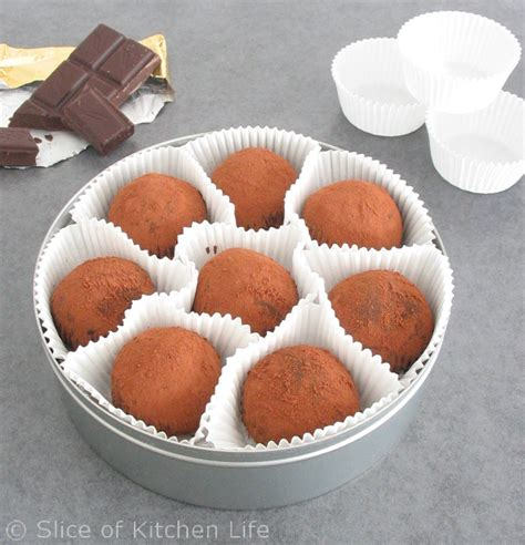 6 Ingredients And Directions Of Simply Rich Chocolate Syrup Receipt by 3 Ingredient Chocolate Truffles Slice Of Kitchen
