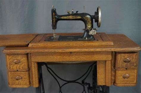 antique new home model a treadle sewing machine