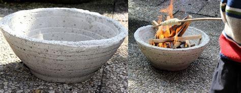 feuerstelle aus beton feuerschale aus beton giessen