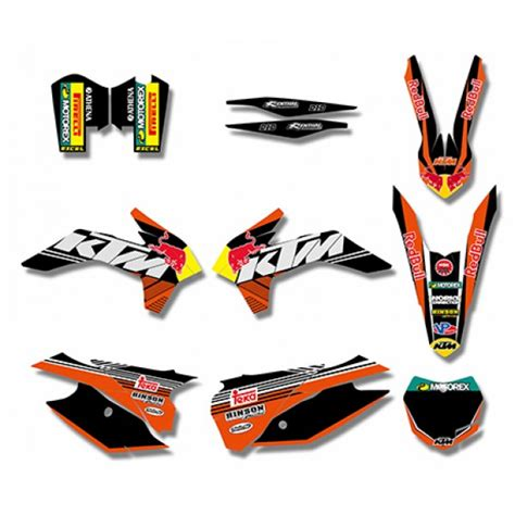Red Bull Aufkleber Ktm by Red Bull Graphics Decals Kit For Ktm Sx Xc 125 450f 2013