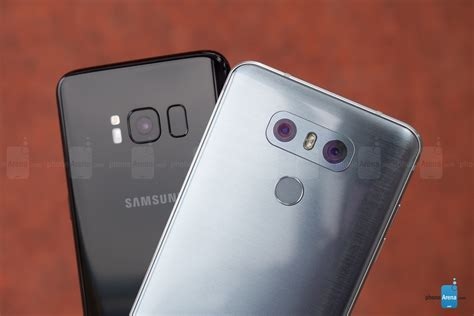 g samsung s8 samsung galaxy s8 vs lg g6 interface functionality and performance