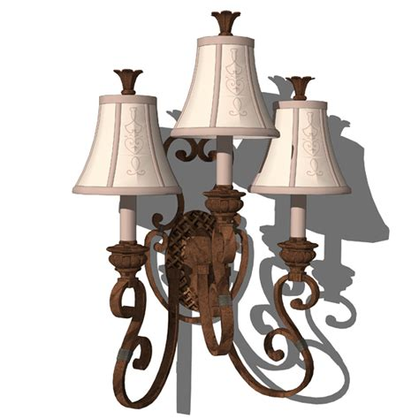 Chandelier Wall Sconce Classic Chandeliers 3d Model Formfonts 3d Models Textures