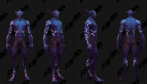 new face options all races male female guild wars 2 nightborne male allied race customization options page 5