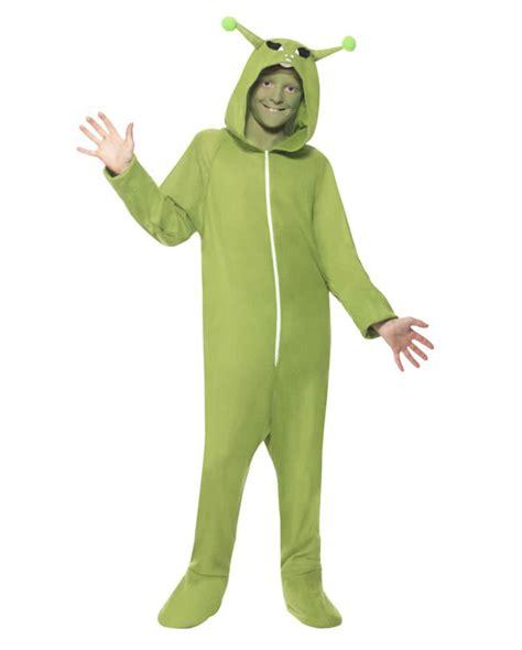 alien costume for sale alien child costume green alien overall with hood