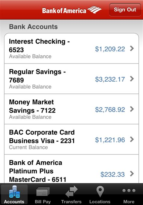 bank of america android app bank of america mobile banking by bank of america