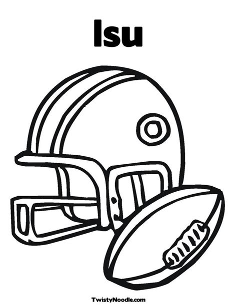 coloring page football helmet printable football helmets cliparts co
