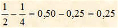 addizionare e sottrarre frazioni con denominatori diversi aritmetica facile le frazioni