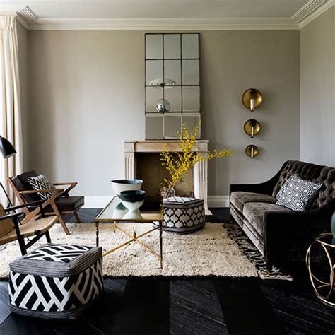 black grey and living room modern living room with black and white furniture living room decorating housetohome co uk