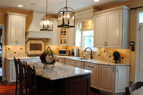 Classic Colonial Homes by Rich Colonial Kitchen