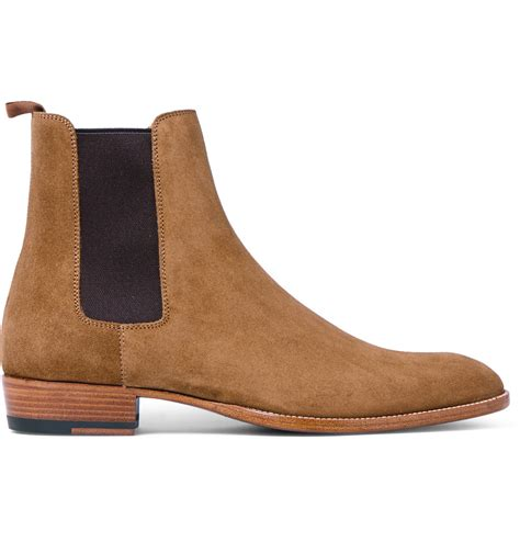laurent mens chelsea boots tyrod wears givenchy shirt and laurent boots