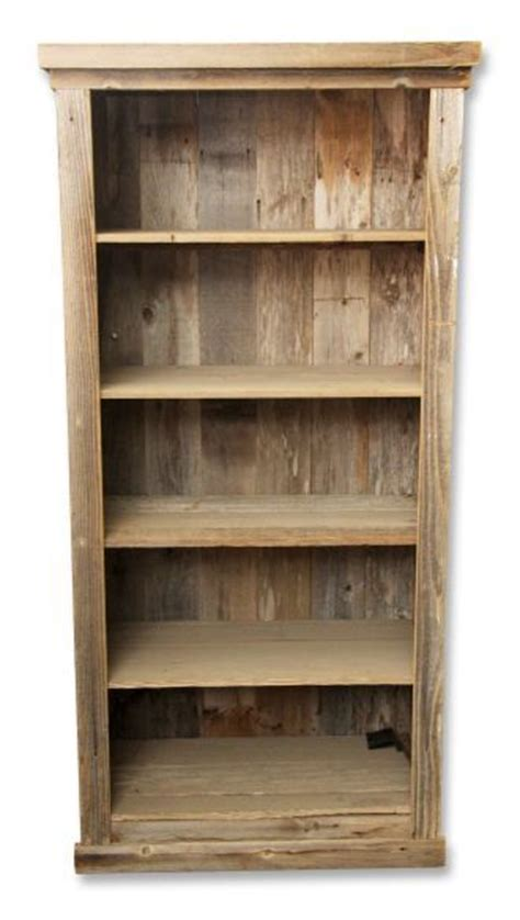handmade barn wood bookcase home