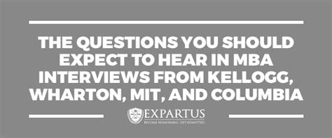 Questions To Ask An Admissions Officer Mba by The Questions You Should Expect To Hear In Mba Interviews
