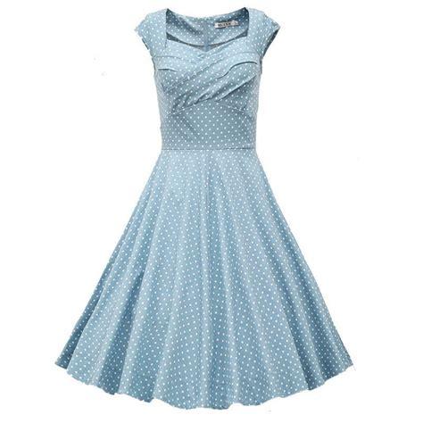 light blue polka dot dress light blue polka dot vintage dress polka dot