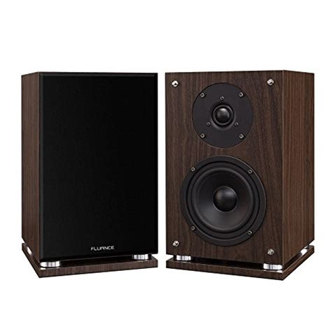 fluance sx6 high definition bookshelf speakers reviews