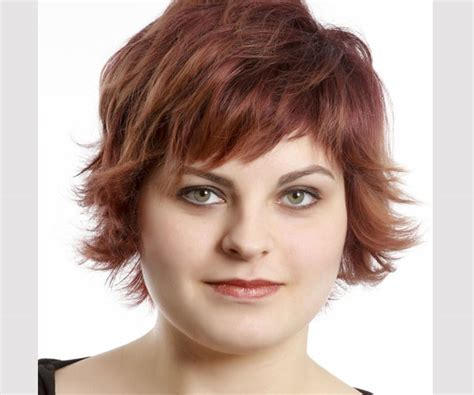 haircut for fat faces with thick hair short hairstyles for round faces beautiful hairstyles