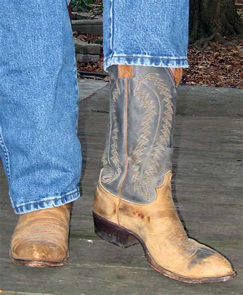 comfortable cowboy boots for walking justin blue tan distressed cowboy boots