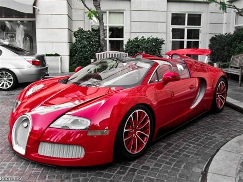 custom bugatti whoever owns this customized red bugatti veyron can