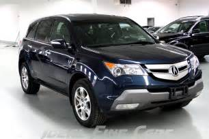 2009 Acura Mdx Technology Package Ideal Cars Used 2009 Acura Mdx Technology