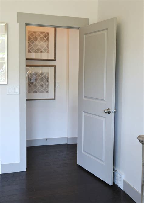 Pictures Of Interior Doors And Trim Painted Door Doors Painted To Create A Raised Panel Look