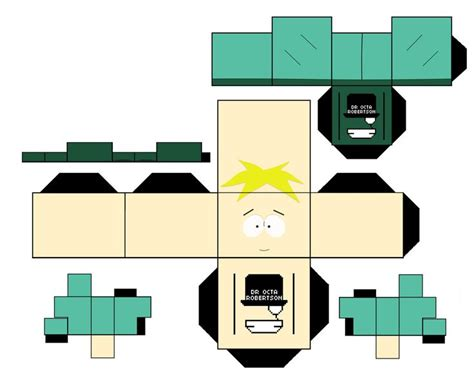 Papercraft Park - butters stotch south park by droctarobertson deviantart