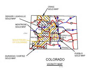 colorado gold claims map