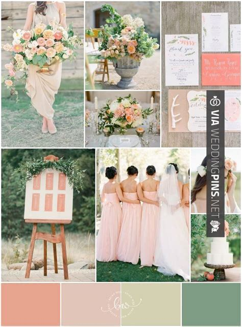 36 best images about wedding colour schemes 2016 on