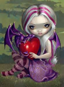 valentine dragon strangeling art jasmine becket griffith