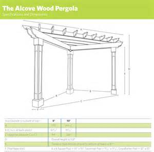 Pergola Timber Sizes by Pergola Dimensions Related Keywords Amp Suggestions