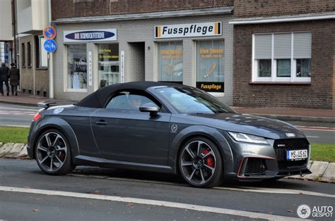 Audi Tt Rs Roadster by Audi Tt Rs Roadster 2017 21 Dezember 2016 Autogespot