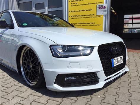 Audi A4 B8 Gewindefahrwerk by Audi A4 B8 8k S Line Avant Mit Gepfeffert
