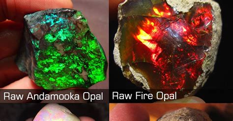 types of opal types of opal with photos