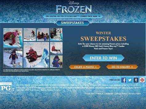 Disneyland Sweepstakes - disney winter sweepstakes