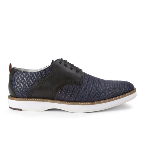 house of hounds shoes house of hounds men s howie raised print shoes navy free uk delivery allsole