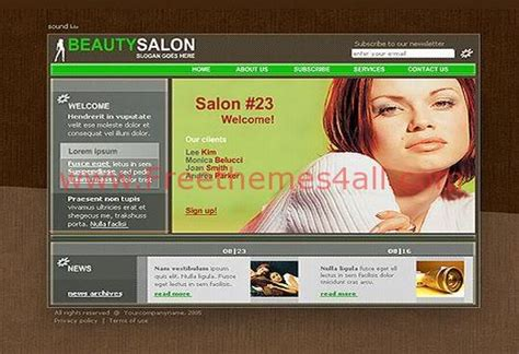 Web Designer Portfolio Flash Template Cosmetology Portfolio Template