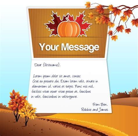 happy thanksgiving email templates gallery templates