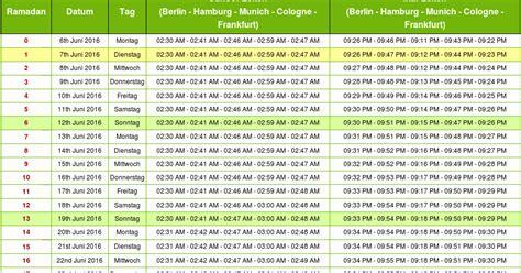 wann ist ramadan 2014 in deutschland ramadan 2016 deutschland ramadan kalender 2016 und zeiten
