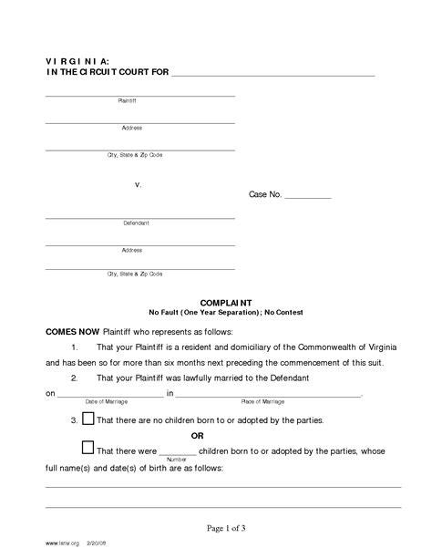 Best Resume Paper by Best Photos Of In Virginia Divorce Complaint Template