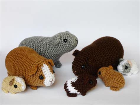 pattern crochet guinea pig guinea pig family by lunascrafts on deviantart