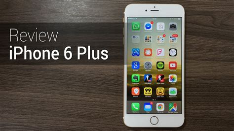 Iphone 6 Plus Situshp An 225 Lise Iphone 6 Plus Review Do Tudocelular