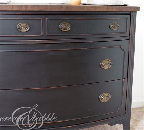 Painted Dresser by Painted Dresser With Milk Paint