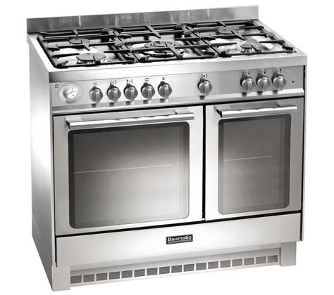 Jual Oven Gas Stainless by Buy Baumatic Bcd925ss Dual Fuel Range Cooker Stainless