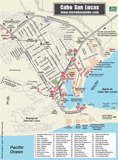 san jose mexico hotel map 17 best images about cabo san lucas baja california
