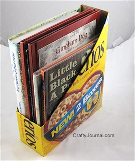 card holder cereal box cereal box magazine holder