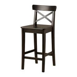 Stool Bar Ikea Ingolf Bar Stool With Backrest 24 3 4 Quot Ikea